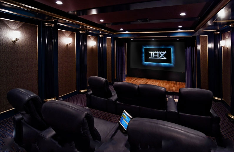 Small home theatre room design joy studio design gallery - Thx home cinema ...